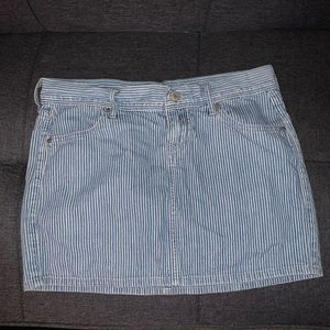 Nautical Striped Skirt - Old Navy Size 2